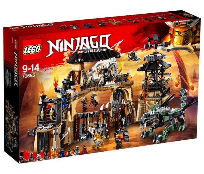 Lego kocke dragon pit  ninjago