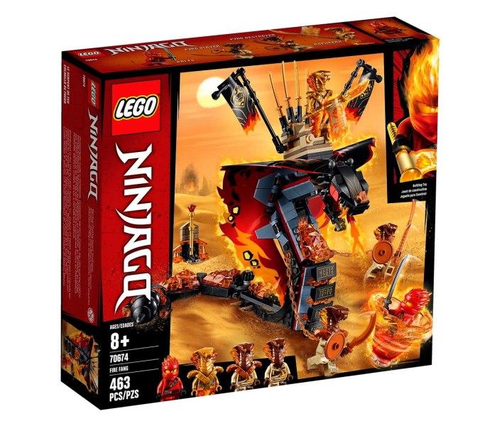 Igracka Lego kocke Fire Fang Ninjago
