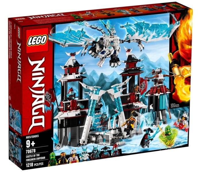Lego kocke Castle of the Forsaken emperor Ninjago