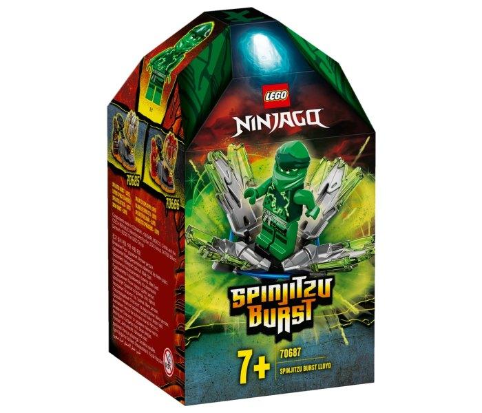 Lego kocke spinjitzu burst - lloyd Ninjago 7g+