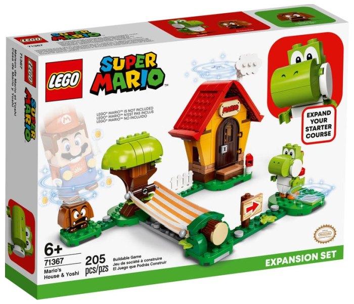Igracka Lego kocke Mario`s house & yoshi expansion set, Super Mario, 6g+