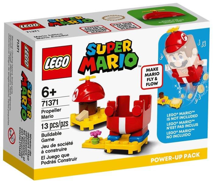 Igracka Lego kocke prepeller Mario power up, Super Mario, 6g+