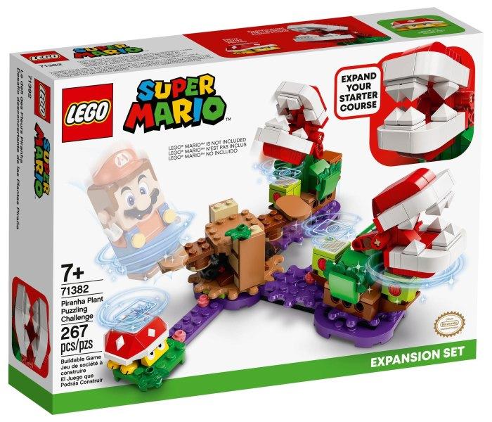 Igračka Lego kocke piranha plant puzzling challenge expansion set, Super Mario, 7g+