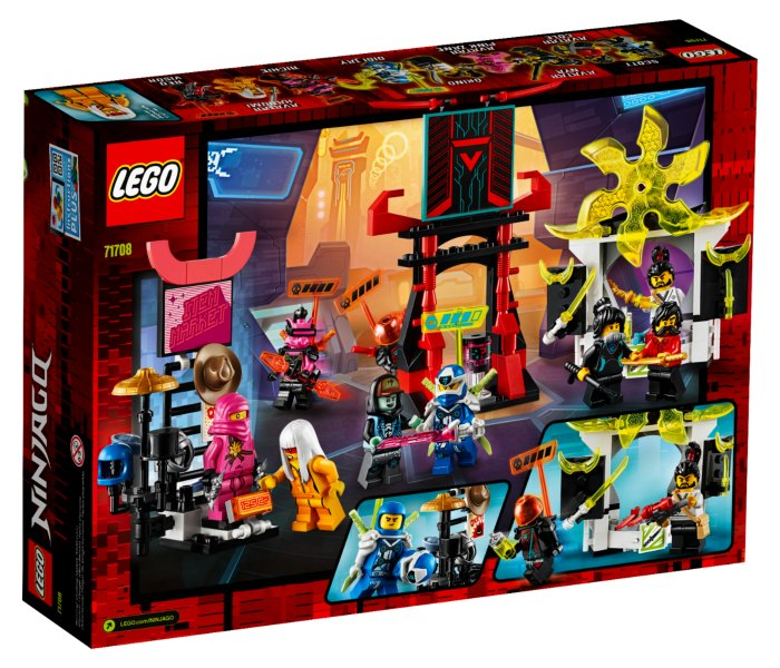 Lego kocke Gamer`s market 7g+, ninjago