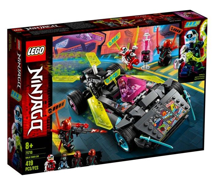 Lego kocke Ninja tuner car 8gg+, ninjago
