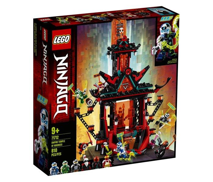 Lego kocke Empire temple of madness 9g+, ninjago