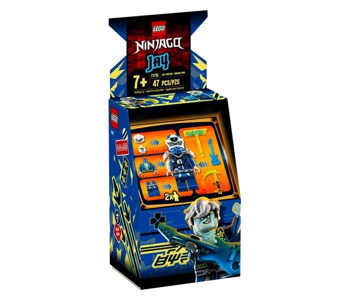 Lego kocke Jay avatar arcade pod 7g+, ninjago