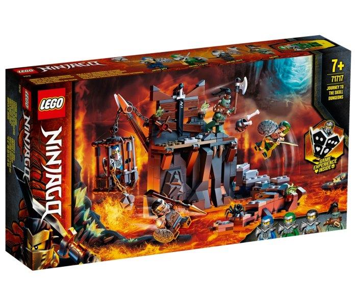Lego kocke journey to the skull dungeons Ninjago 7g+