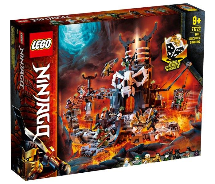 Lego kocke skull sorcerer's dungeons Ninjago 9g+