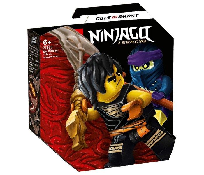 Igračka Lego kocke Epic battle set - cole vs ghost warrior, Ninjago 6g+