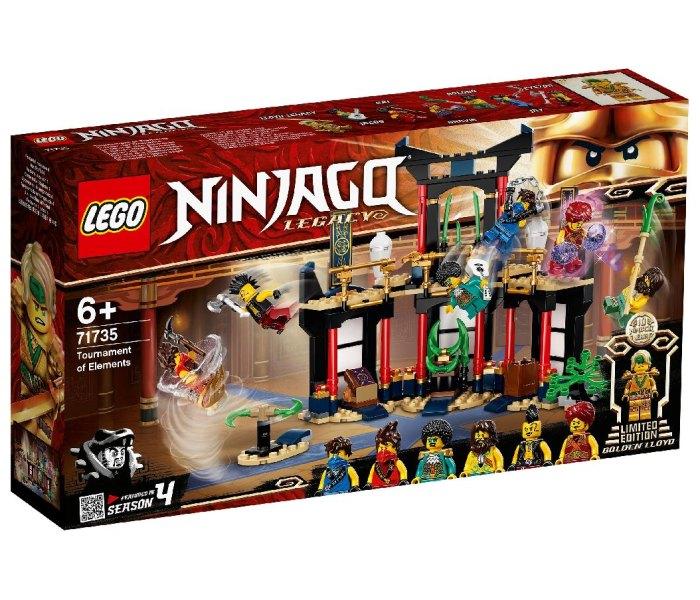 Igračka Lego kocke Tournament of elements, Ninjago 6g+