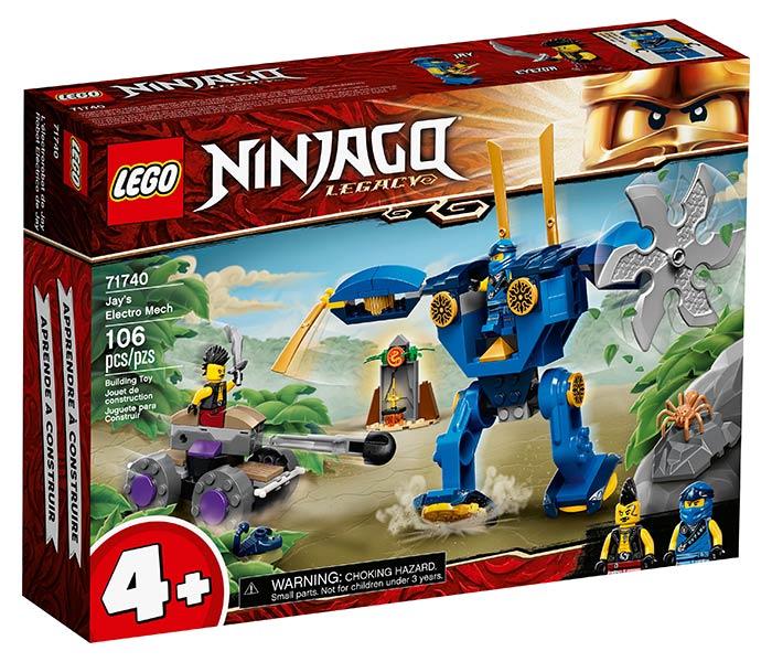 Igračka Lego kocke Jay`s electro mech, Ninjago, 4g+