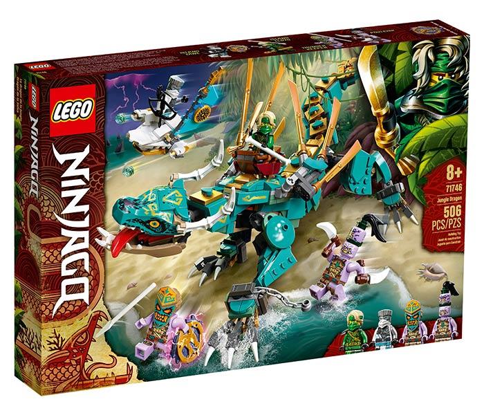 Igračka Lego kocke Jungle dragon, Ninjago, 8g+