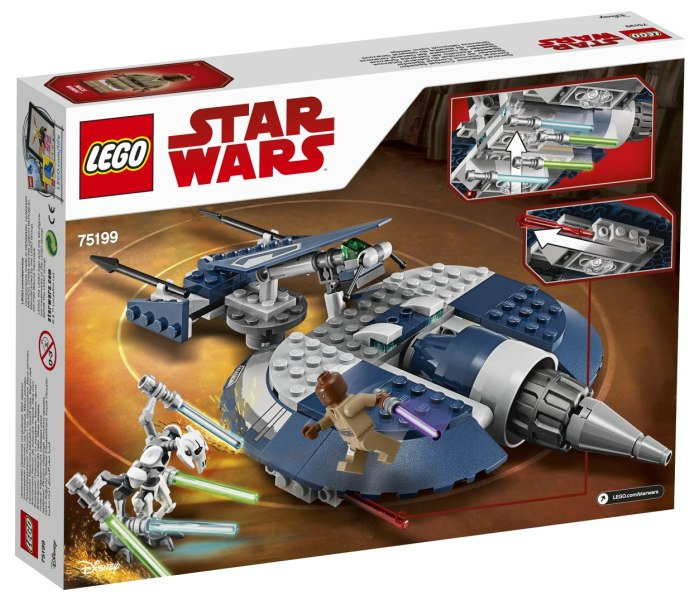 Lego kocke General grievous combat speeder  Star wars