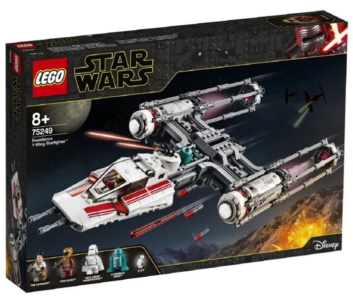 Igracka Lego kocke resistance y-wing starfighter Star wars