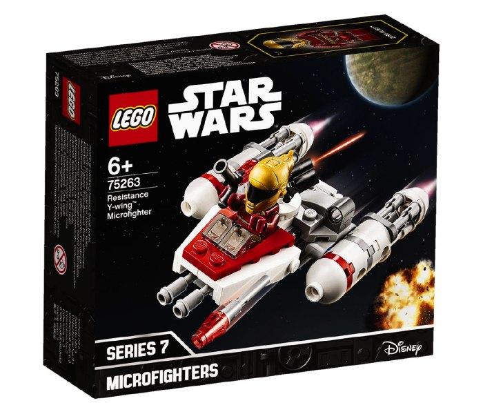 Lego kocke Resistance Y-wing microfighter 6g+, Star wars
