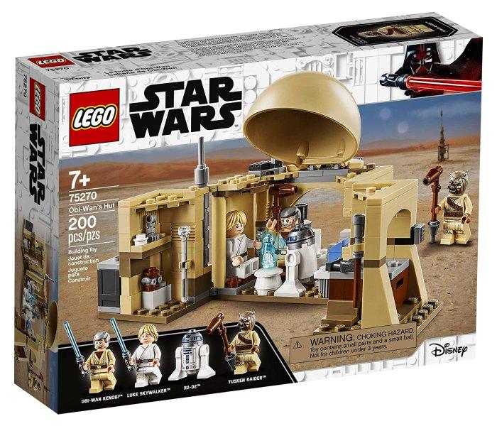 Lego kocke Obi Wan`s hut 7g+, Star wars