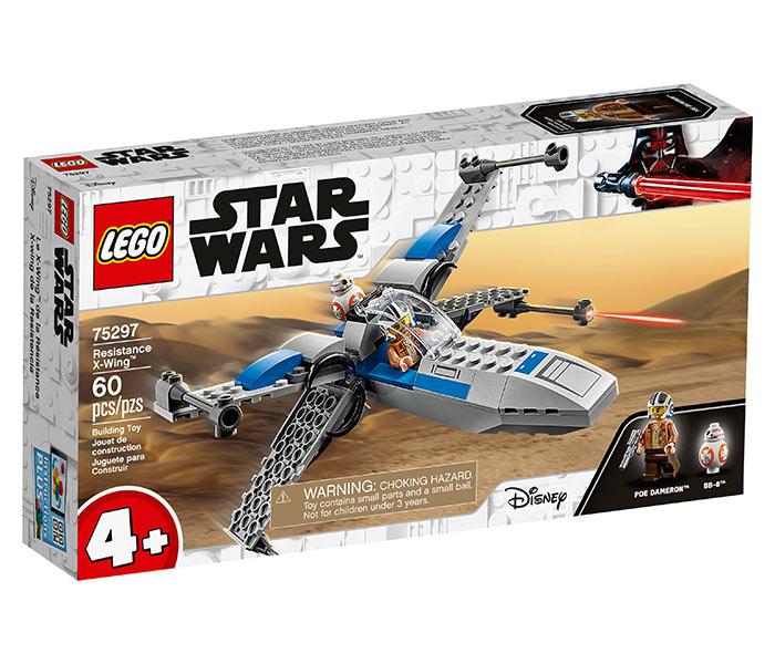 Igračka Lego kocke resistance x wing, Star Wars, 4g+