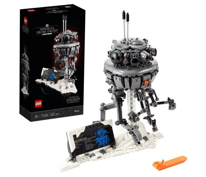 Igračka Lego kocke imperial probe droid, Star Wars 18g+