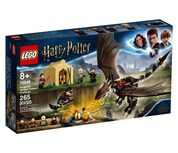 Igracka Lego kocke Hungarian horntail triwizard challenge Harry Potter