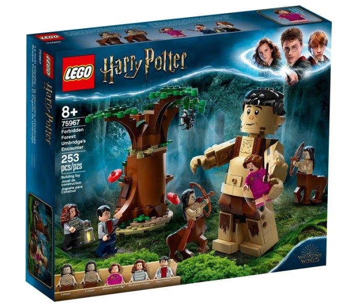 Lego kocke forbidden forest: umbridge's encounter Harry Poter 8g+