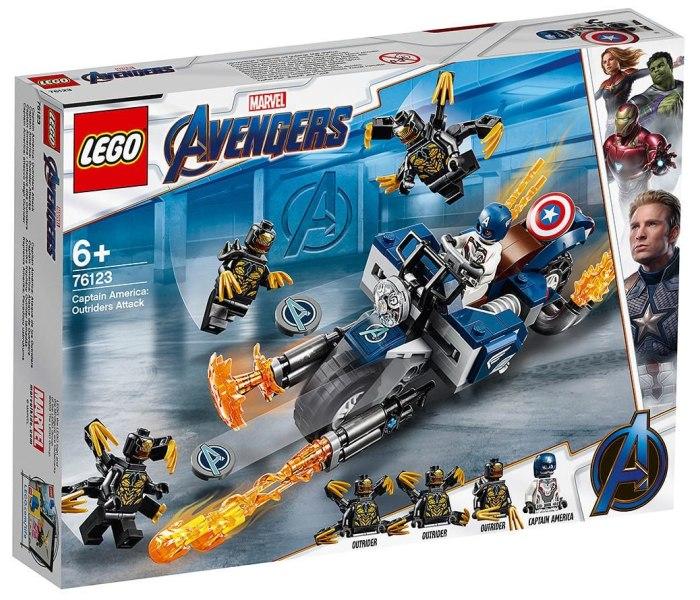 Igracka Lego kocke Captain America outriders attack Avengers
