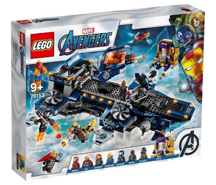 Lego kocke avengers helicarrier Avengers 9g+