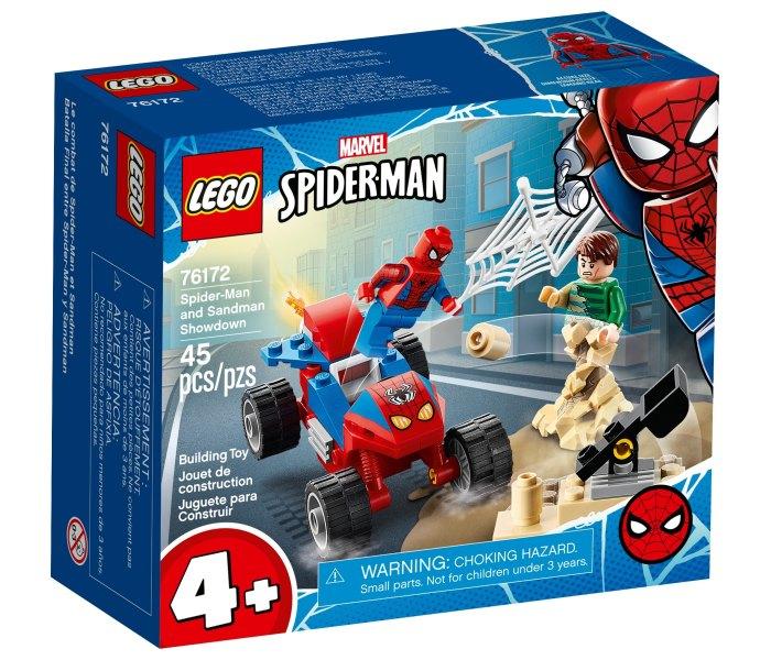 Igračka Lego kocke Spiderman and Sandman showdown, Super heroes 4g+