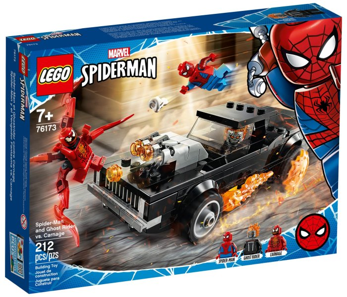 Igračka Lego kocke Spider-man and ghost rider vs carnage, Spiderman 7g+