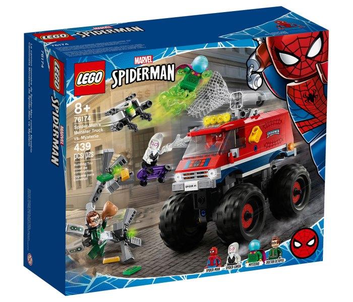 Igračka Lego kocke Spider-man's monster truck vs. mysterio, Spiderman 8g+
