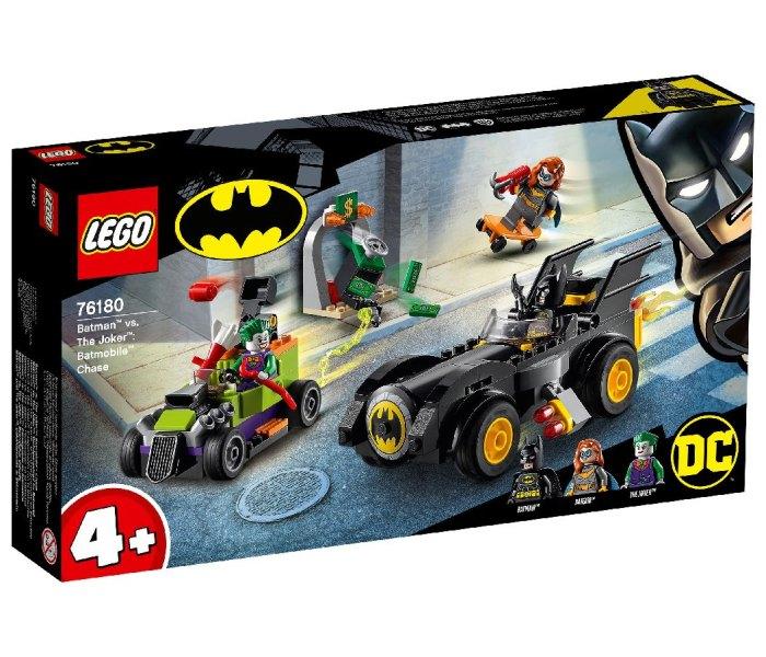 Igračka Lego kocke Batman Batmobile chase, Batman 4g+