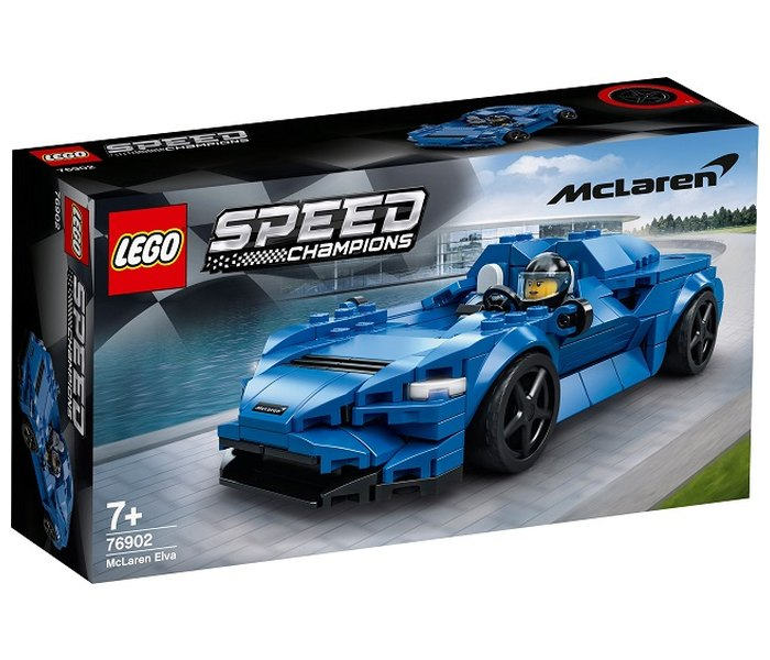 Lego kocke,Mc Laren Elva, Speed Champion, 7+