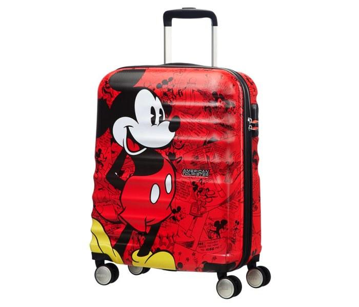 Kofer Wavebreaker Disney 55/20  disney mick. red