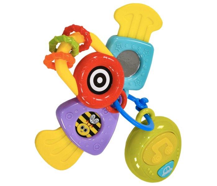Igracka za bebe glodalica kljucevi 6m+