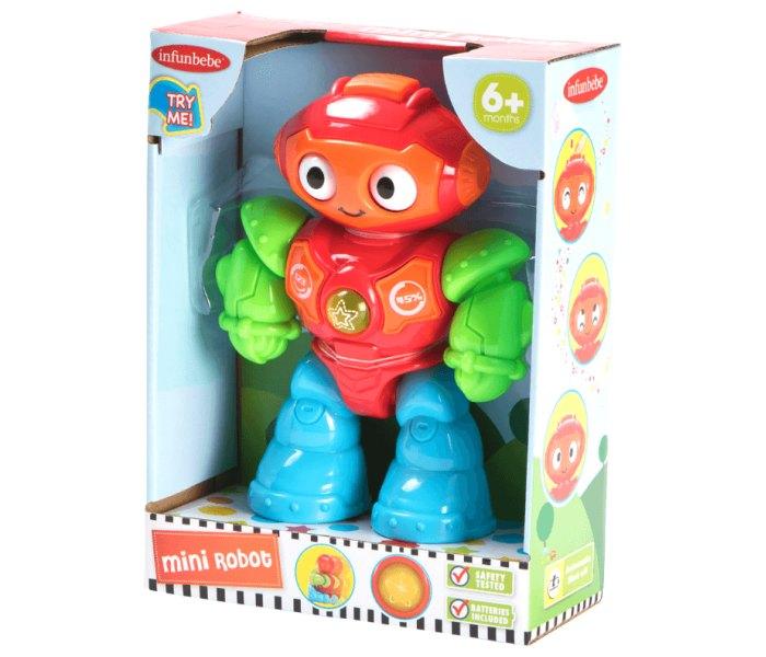 Igracka za bebe mini robot 6m+