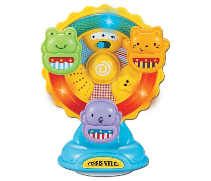 Igracka za bebe vrteska sa zivotinjama 6m+