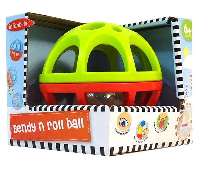 Igracka za bebe lopta 6m+