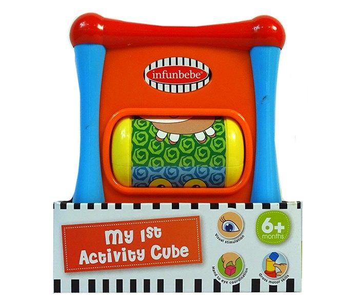 Igracka za bebe moja prva kocka sa aktivnostima 6m+