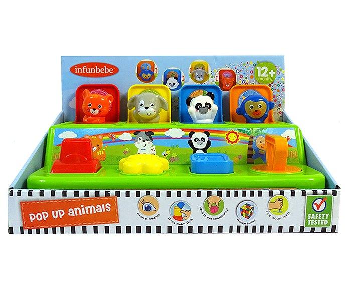 Igracka za bebe  zivotinje 12m+