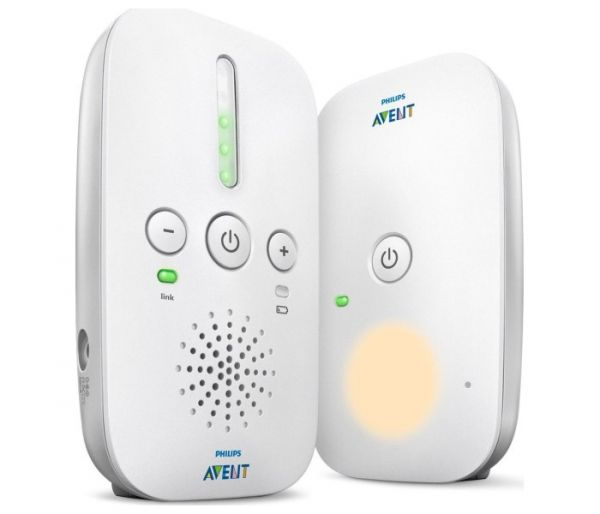 Dect baby monitor audio
