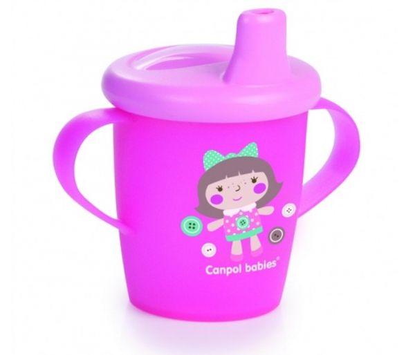 Solja za bebe sa ruckama,250 ml, 9mj+, toys pink