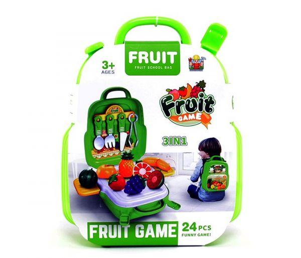 Igračka voćni set 3u1