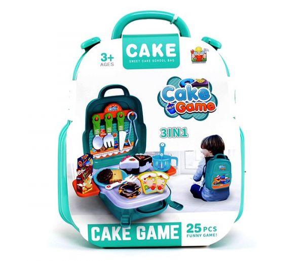 Igračka kofer-kolači, 3u1