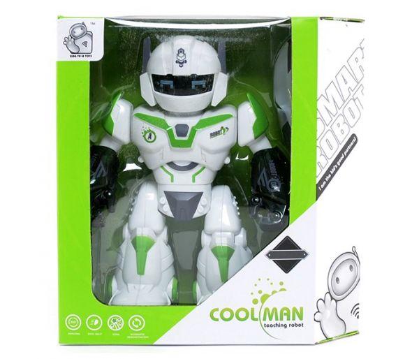 Igračka robot, zeleni mali