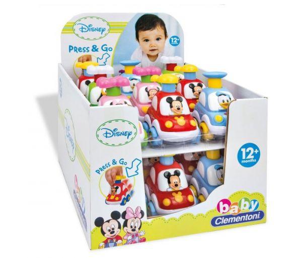 Disney baby press & go auto