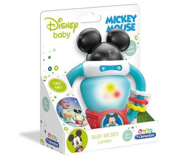 Igracka Clementoni za bebe - inteaktivna Mickey lampa