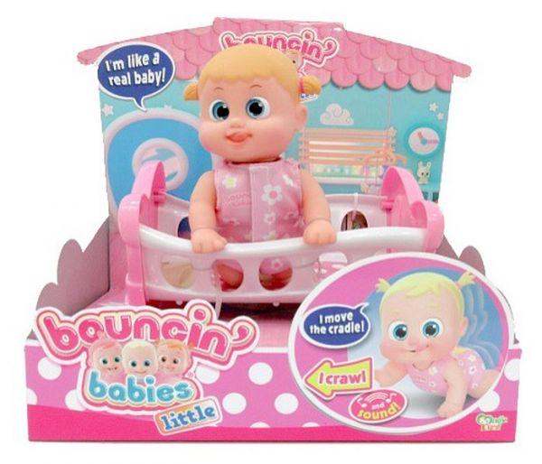 Igracka lutka  Boni u krevetu