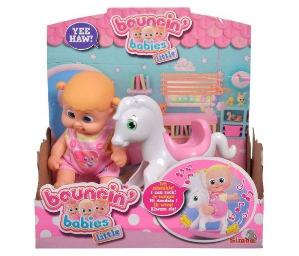 Igracka lutka  Boni na klackalici