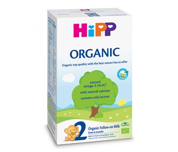 Mlijeko za bebe hipp 2 organic300gr