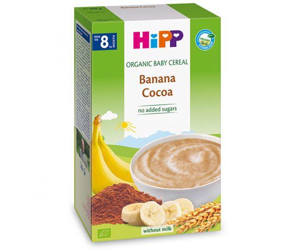 Kašica instant - žitna kašica banana kakao200g 8m